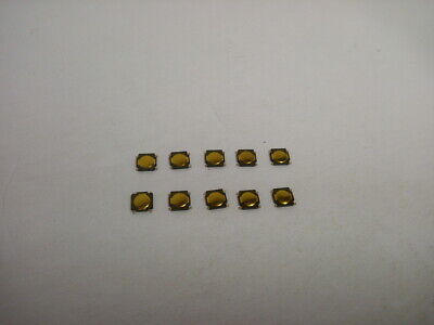 10x Pack Lot 4.5 X 0.35mm Push Touch Tactile Momentary Micro Button Switch Tact