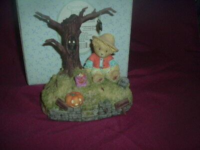 """CHERISHED TEDDIES-""""HALLOWEEN IS A BOO-TIFUL THING"""" --119912-2004-AVON EXCLUSIVE"""