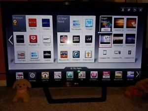 "LG Smart TV with 3D- 47""---$250"