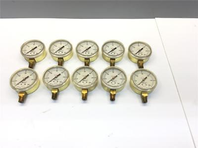 25pc Ncg 0-300 Welding Oxy Acetylene National Cylinder Gas Psi Gauge 100105-18