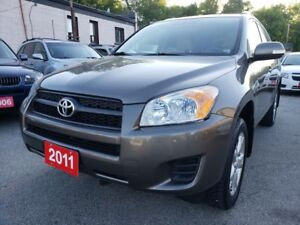2011 Toyota RAV4 LOW KMs Only 119K/4WD/Sunroof/Alloys/AUX