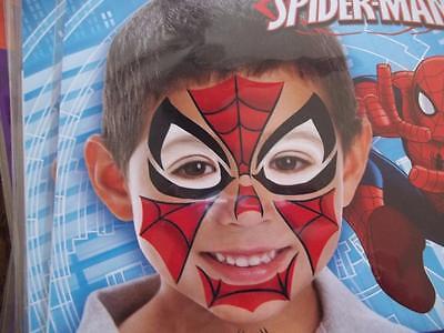 Costume Face Tattoos Ultimate Spiderman 2 in pkg  Halloween (Ultimate Halloween Costume)