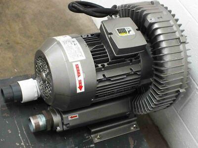 Republic Hrb 900 Regenerative Blower 353cfm 78db 11hp 230480 Volt 3-phase Motor