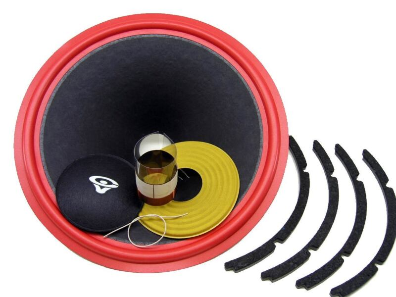 "Recone Kit for Cerwin Vega AT-15 ATW-15 15"" Woofer 4 Ohms Premium SS Audio Parts"
