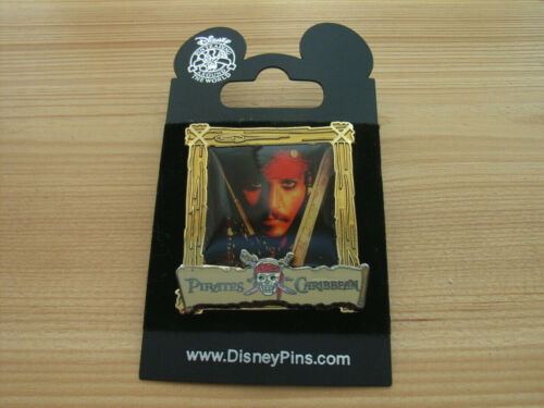 Jack Sparrow Pirates of the Caribbean Poster Pin 2006 Johnny Depp