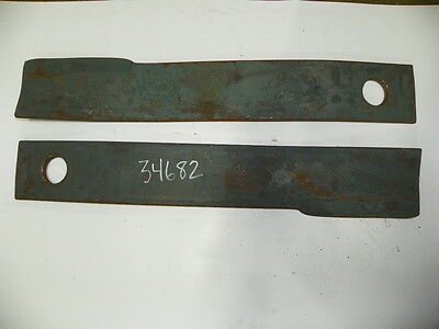 Set Of Two 2 Blades For Tiger Brand Boom Mower Side Mount Model 34682