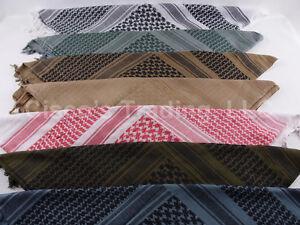 Shemagh-100-Cotton-Scarf-Head-Wrap-44-x-44-Woven-Bandana-keffiyeh-201