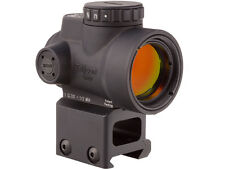 Trijicon 1x25mm MRO 2.0 MOA  Red Dot Sight & High Mount Black - MRO-C-2200006