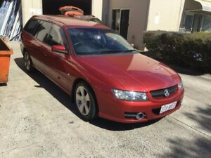 2006 Holden Commodore VZ MY06 SVZ Red 4 Speed Automatic Wagon Maroochydore Maroochydore Area Preview