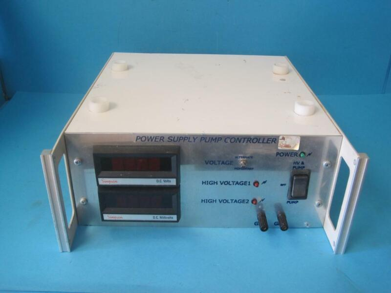 High Voltage Power Supply Pump Controller Alternative Momentary Coltage Used