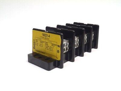 Nbussmann 16021-4 Power Terminal Block 175a-600v