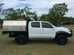 2010 Toyota Hilux dual cab tray Plus Service body Canopy Ute Yatala Gold Coast North Preview