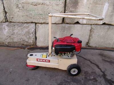 Edco Tg-7 5.5h Turbo Corner Concrete Grinder 5.5hp Honda Motor Works Great