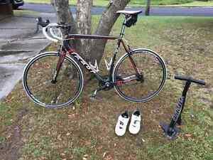 Felt F5 Road Race Bike - Carbon Fibre - 61cm frame + accessories Epping Ryde Area Preview