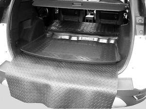 3pc Ldpe Boot Tray Rubber Load Liner Mat Or Bumper