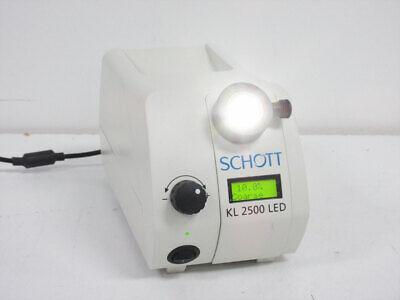 Schott Kl 2500 Led Light Source For Fiber Optic 250.400