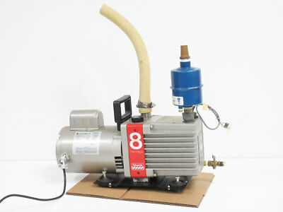 Edwards E2m8 Dual Stage Vacuum Pump With Balston Filter 1818-371h Filter
