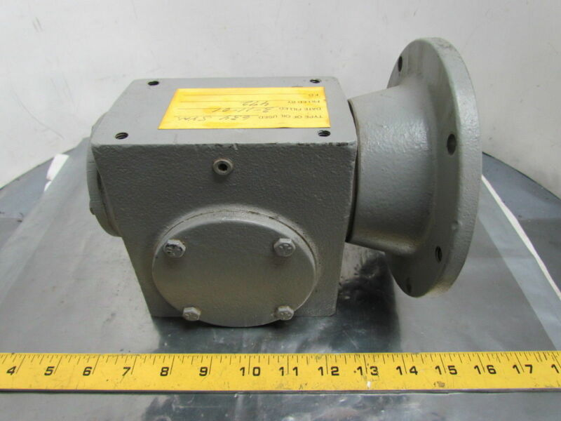 Cleveland M1713BA-20C Speed Reducer Gear Box 20:1 Ratio 87.5 RPM 56C Face Sz 175