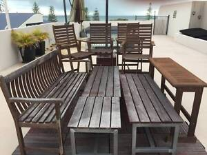 Timber outdoor furniture Scarborough Redcliffe Area Preview