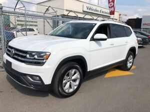 2018 Volkswagen Atlas Highline Rear view cam / Leather / Sunroof
