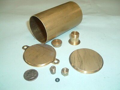 Model Hit And Miss Gas Engine Brass Fuel Tank Kit 1-34 Diameter