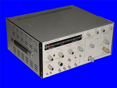 Very Nice Wiltron Sweep Generator Model 610d W 61083c Plug In 10 Mhz - 1220 Mhz