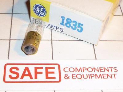 GE 1835 Miniature Lamp #27804 T3.25 Bulb BA9s Base Mini Bayonet 55V 3W QTY-1 K45 for sale  Forest Grove