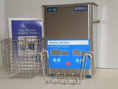 Dsa50se-sk2 Industrial Grade 3l 250w Heated Digital Ultrasonic Parts Cleaner