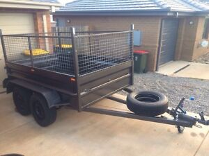 8*5 CAGED TRAILER FOR HIRE Capital Hill South Canberra Preview