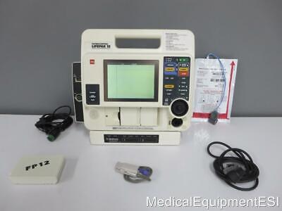 Lifepak 12 3 Lead Ecg Spo2 Ac Adapter Aed Als Pacing