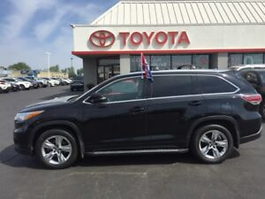 2015 Toyota Highlander LIMITED EDITION 7PASS LEATHER NAV