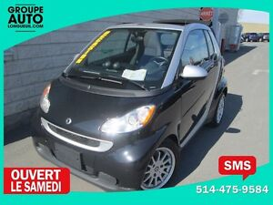 2011 Smart Fortwo CONVERTIBLE*AUTO*A/C*MAGS*NOIR*