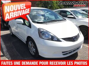 Honda FIT DX-A **$$$*2013 AU PRIX D'UN 2012*$$$**