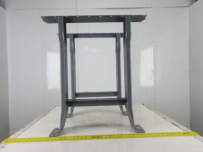 Equipto 28-12 Deep X 31 Tall Gray Industrial Craft Table Workbench Legs 2