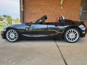 2006 BMW Z4 E85 MY07 3.0si Steptronic Black Roadster Convertible Bonnyrigg Heights Fairfield Area Preview