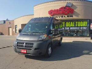 2016 RAM Cargo Van PROMASTER 2500 HIGH ROOF 136 WHEELBASE
