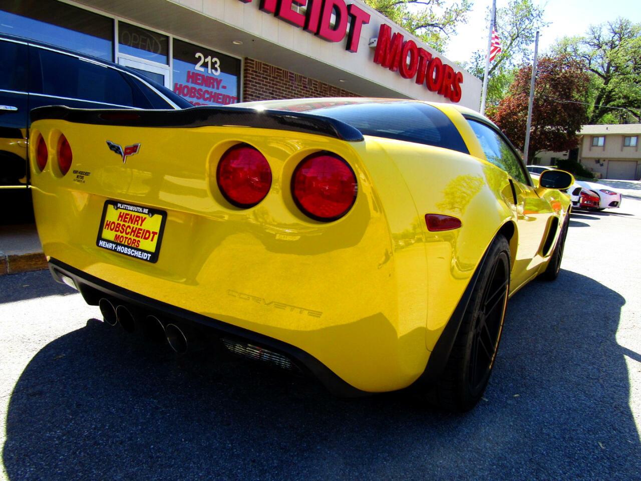 2006 Yellow Chevrolet Corvette Z06  | C6 Corvette Photo 8