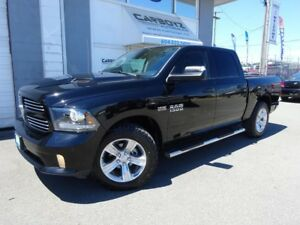 2014 Dodge Ram 1500 Sport Crew 4x4, Nav, Sunroof, Leather Cooled