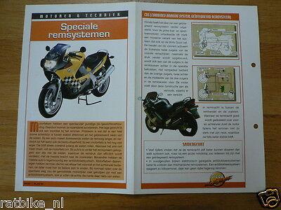 LM84- MOTOR SPECIALE REMSYSTEMEN  INFO MOTORCYCLE,MOTORRAD,MOTORFIETS