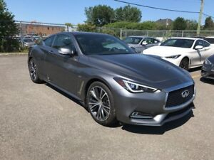 2017 Infiniti Q60 Coupe 2.0T AWD PREMIUM CUIR NAVIGATION WHAT A