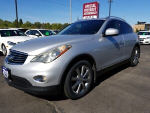 2010 Infiniti EX35 Luxury CLEAN CAR REPORT !!  LOCAL TRADE !!