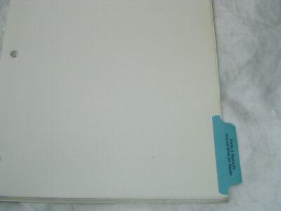 1985 Flexi-coil Flexicoil Force V Hydraulic Air Seeder Parts Catalog Manual Book