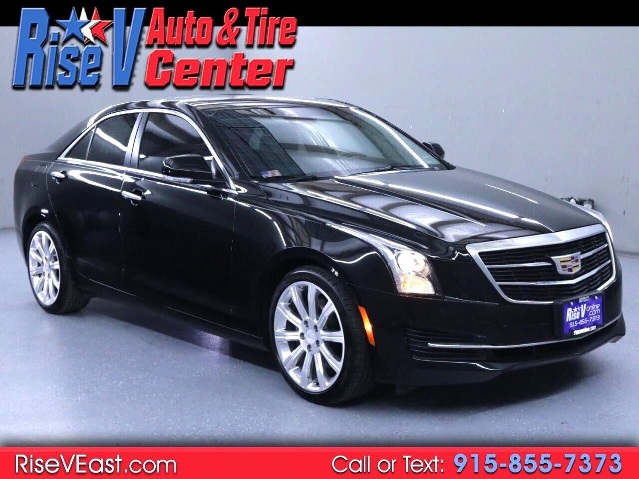 2017 Cadillac ATS 2.0L Luxury RWD 30985 Miles Black Sedan 2.0L L4 DOHC 16V TURBO