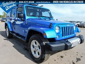 2015 Jeep Wrangler Unlimited Sahara 4x4 | Leather | Removable Ra