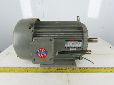 Us Electrical 15hp 3540rpm 3ph 230460v 254t Electric Ac Motor 254t Frame