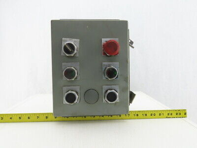 Hoffman 8 X 10 X 4 Electrical Enclosure With Switches