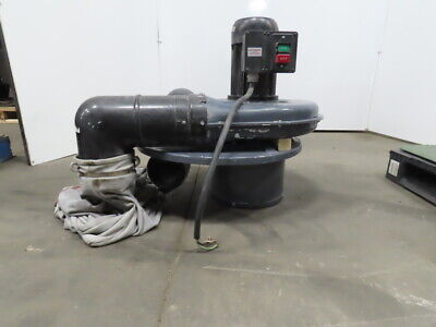 Dayton 3aa21b 2hp Portable 2-stage Dust Collector 1310 Cfm 230460v 3ph