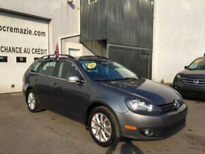 2012 Volkswagen Golf wagon TDI diesel. état impeccable d'occasio