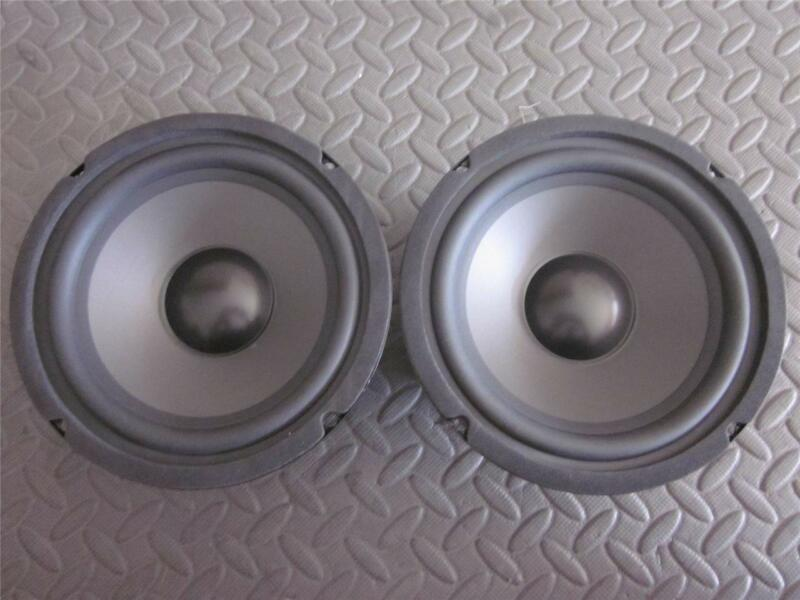 "NEW (2) 6.5"" Woofer Replacement Speakers.Home Audio.6-1/2"".8ohm.six half inch."