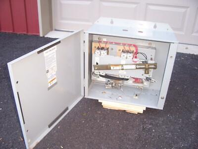 Cutler-hammer Elliott Magnetek Transfer Switch 26370034 - 100 Amp 240 Volt